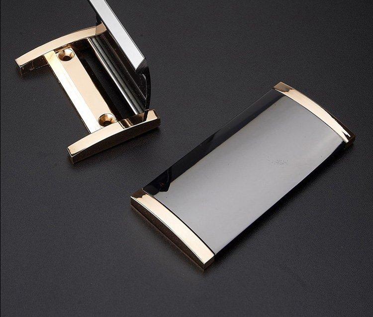 Modern Rose Gold Handles Cabinet Door Drawer Pull Shoe ...