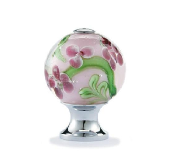10pcs decorative color flower vaidurya glass cabinet cupboard door knobs diameter 25mm cabinet. Black Bedroom Furniture Sets. Home Design Ideas