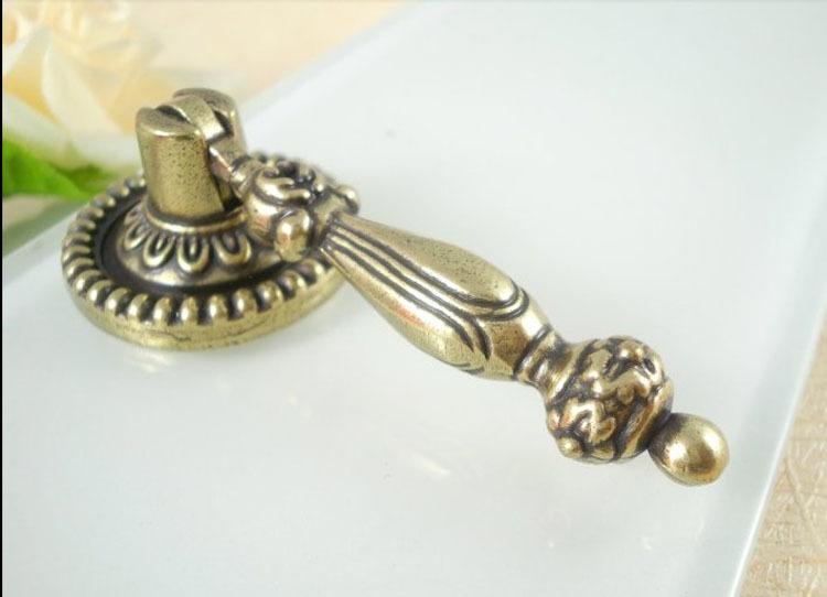 cabinet hardware antique brass pocomo knob handle knobs