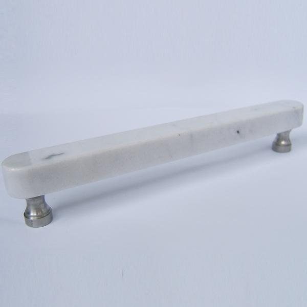 Crystal Block Table Lamp Bianco Carrara 220 (Granite pulls and handles for Kitchen Cabinet door ...