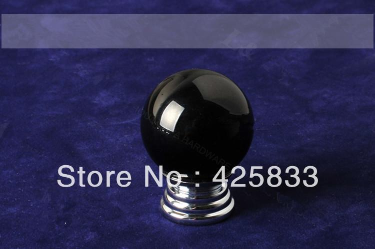 K9 Black Crystal Handles Dresser Knobs Drawer Pulls