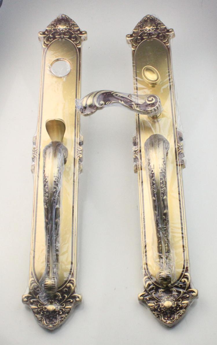 1 Pcs Lot Pure Brass Entrance Door Pure Copper American Standard Lock Body System Free