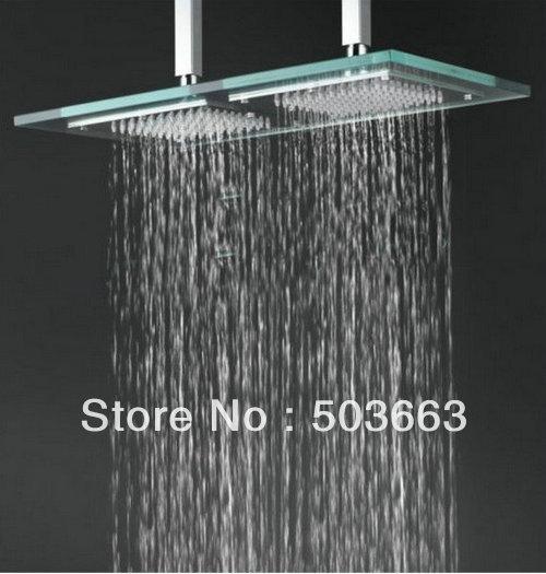 12 20 39 39 faucet bathroom glass shower head b8132 shower head 1446 - Glass shower head ...