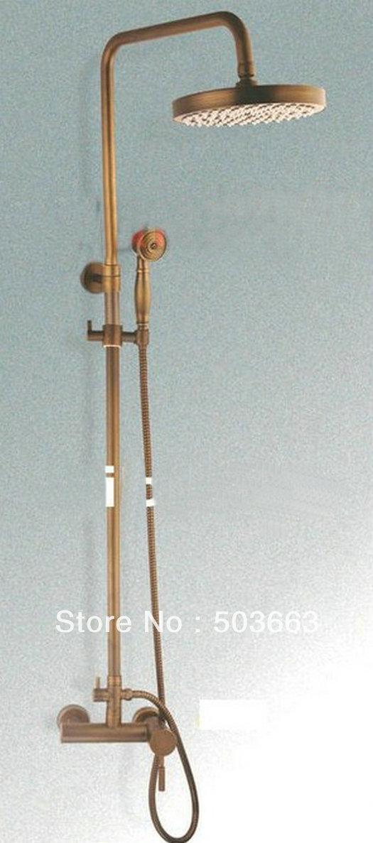 Antique Brass Shower Faucet | Zef Jam