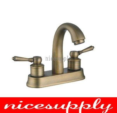 Nice Antique Brass Faucet Bath Kitchen Basin Sink Mixer Tap B668 Antique Brass Faucets 48