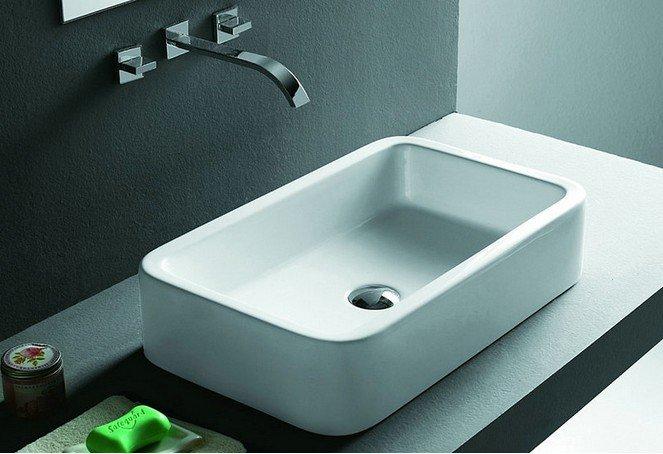 Waschbecken Design Flugelform