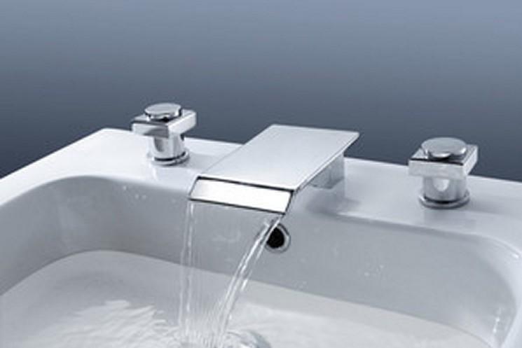 ... Tap Chrome 3PCS Faucet Set K-6183 Bathroom Faucet-3 or 5 piece set
