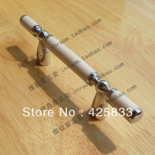 Hot Sale10pcs 64mm White Kitchen Cabinet Knobs Zinc Kitchen Furniture  Modern Decorative Knobs Antique Kitchen Armoire