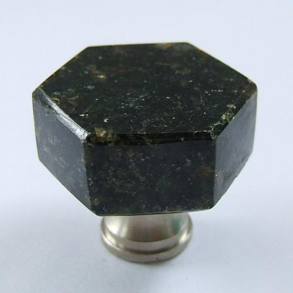 Hexagonal knob door knobs door locks cabinet hardware for Bathroom knobs and pulls