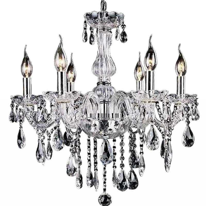 2015 crystal chandelier moroccan decor lustres e pendentes de cristal clear c - Lustre pampilles cristal ...