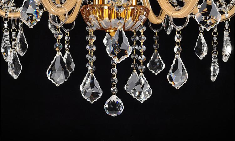 Amber color chandelier bedroom modern crystal chandelier lighting amber color chandelier bedroom modern crystal chandelier lighting 8lights crystal lighting gold color classic crystal chandelier aloadofball Gallery