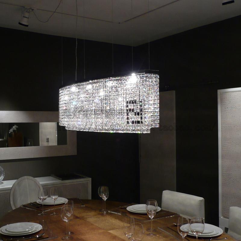 Crystal Hanging Lights Kitchen Led Pendant Lights