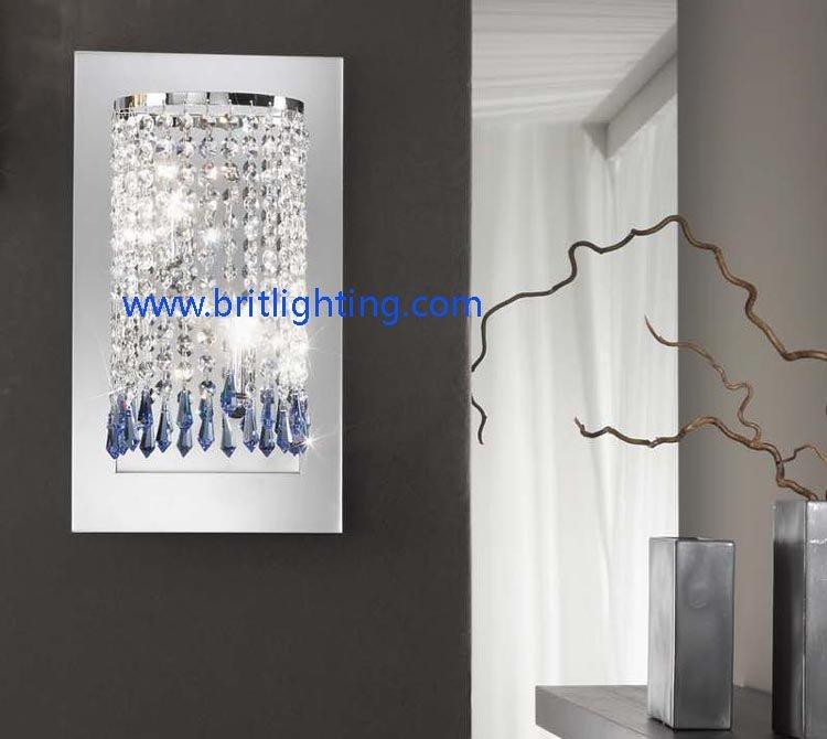 Crystal sconces wall decor