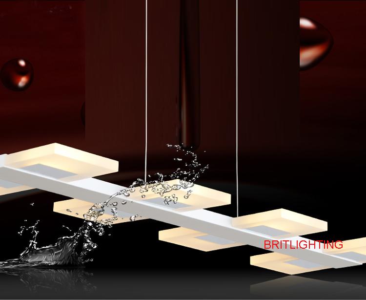 led kitchen lighting fixtures modern lamps for dining room led ...