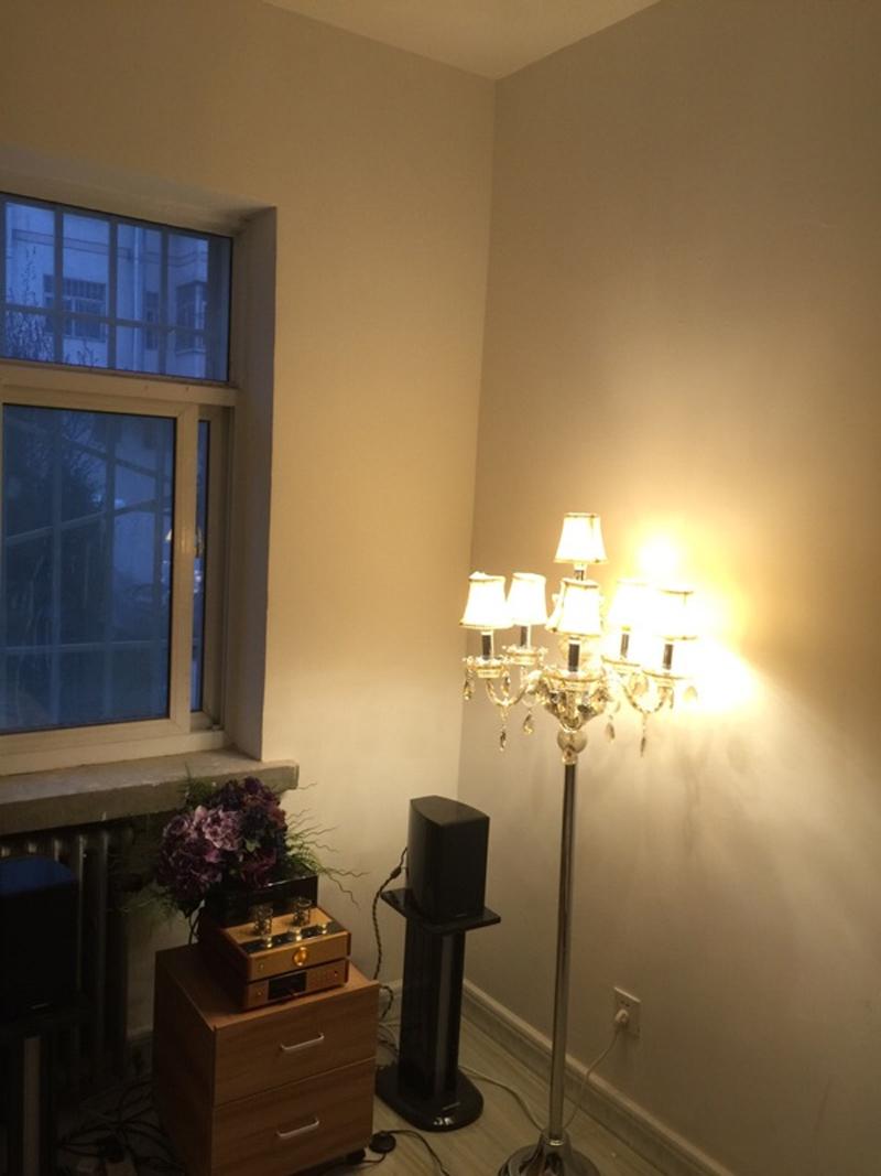 Modern Floor Lamp Villas Bedside Standing Lamps For Living Room Bedroom Elegant