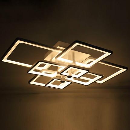 Modern Led Ceiling Lights For Living Room Acrylic Led