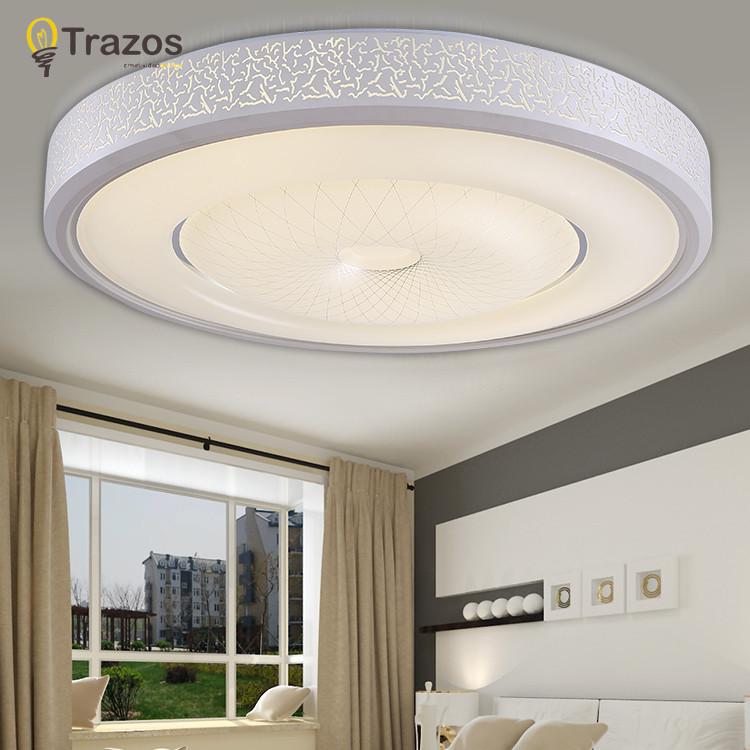 Modern Light Fixtures Ceiling Led Living Room Plafon Lamp Luminarias Para Sal