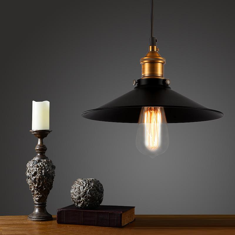 Old Bronze Vintage Bar Pendant Lamp Edison Retro Lamp