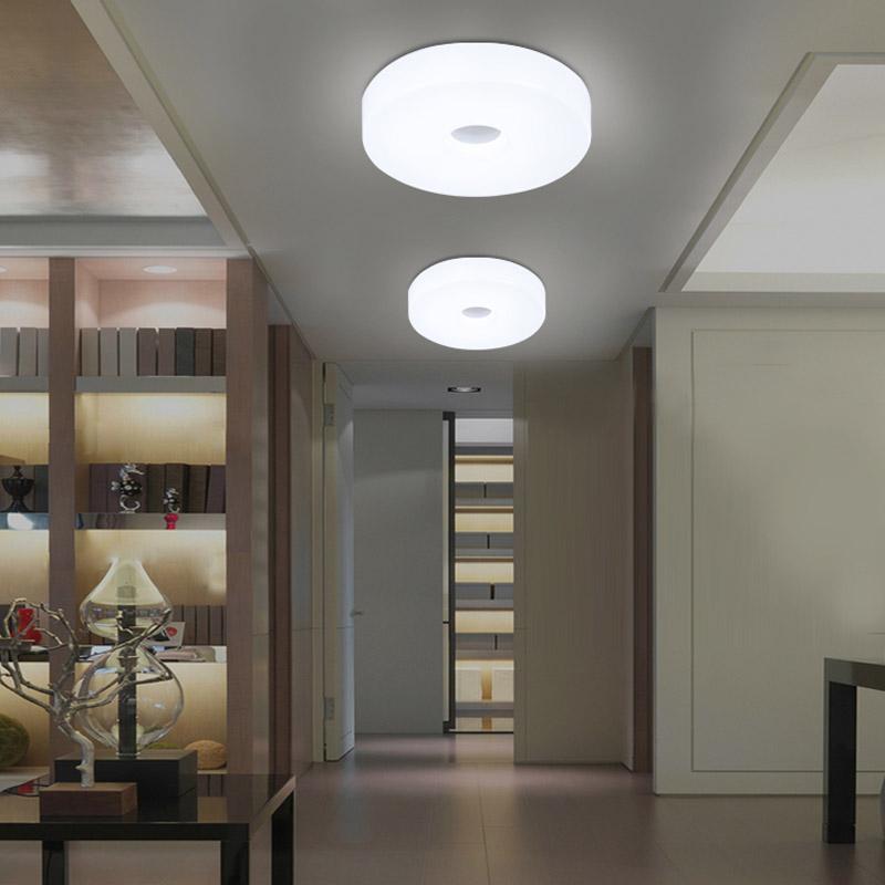 90 265v Led Ceiling Lights Modern Hallway Flush Mounted