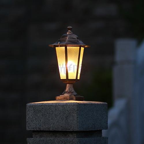 Columbia Outdoor Lamp Post Outdoor Column Lighting 27 Base