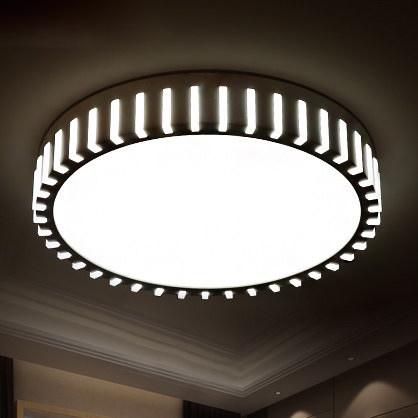creative wheel gear modern led ceiling lights for living. Black Bedroom Furniture Sets. Home Design Ideas