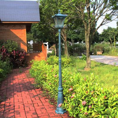 Garden Pathway Lights Outdoor Garden Lighting Led E27 Bulb 2.2m Aluminum  Garden Pole Lamp Waterproof
