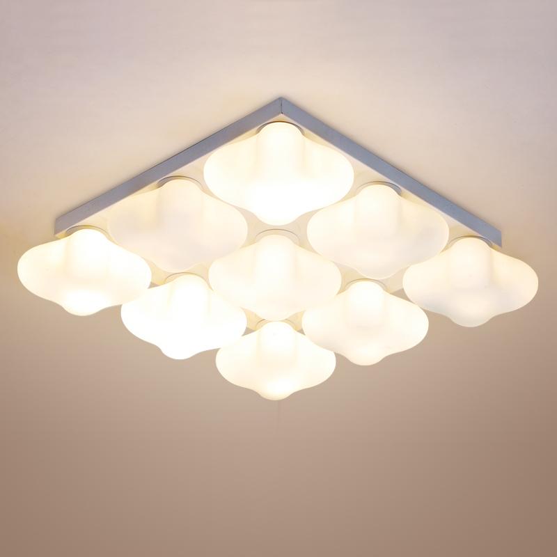 Modern led ceiling light for living room bedroom brief ceiling led lamp e27 flush mount ceiling for Flush mount ceiling lights living room