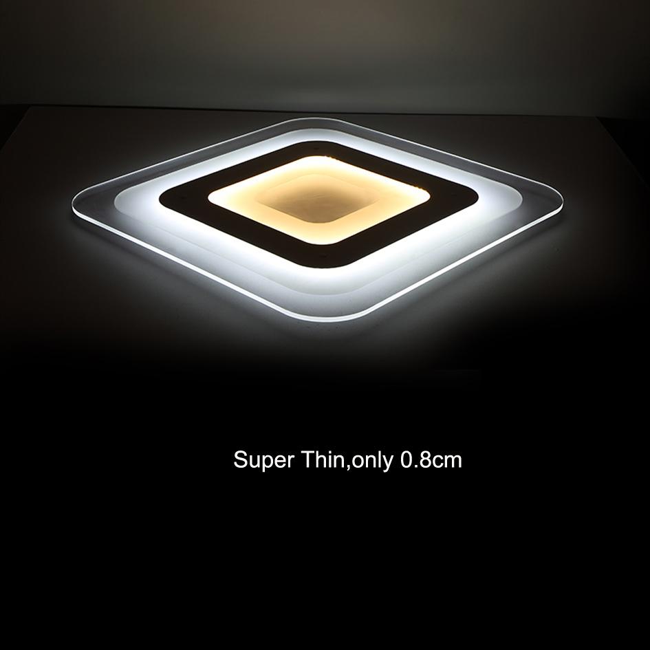 Modern Led Kitchen Lighting: Modern Led Ceiling Light Living Room Lights Acrylic