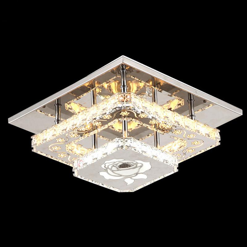 Led Ceiling Lights Crystal