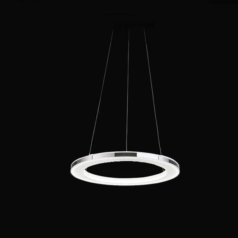Modern led pendant lamp led pendant light diameter 30 cm 90 265v suspension l - Suspension led castorama ...
