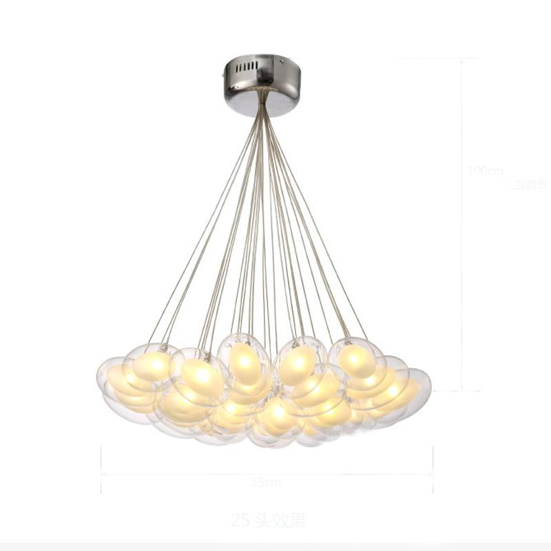 Modern Led Pendant Light Led Pendant Lamp Egg Glass 90