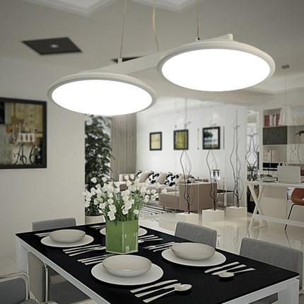 new acrylic led suspension luminaire modern lighting