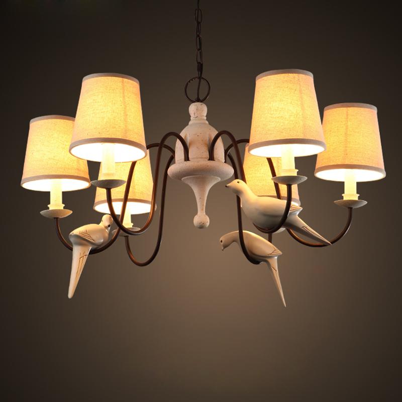 Retro Foyer Lighting : Vintage hemp rope pendant lamp retro countryside wicker