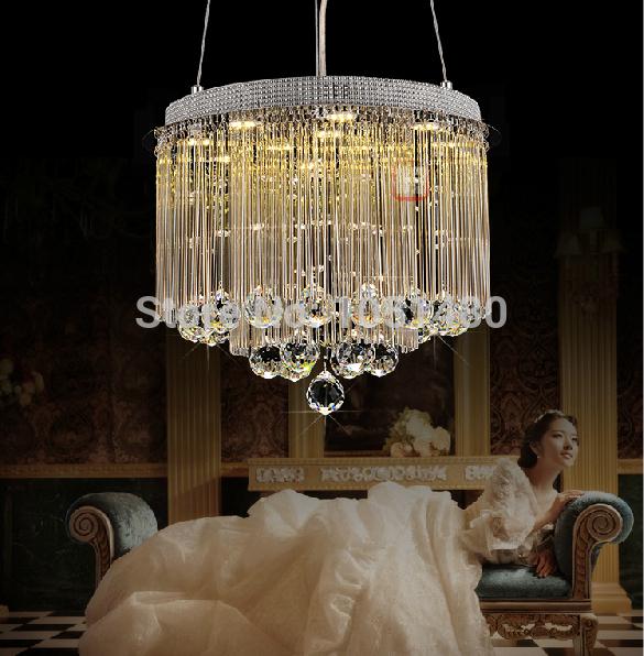s hang wire crystal chandelier light modern lustre led. Black Bedroom Furniture Sets. Home Design Ideas