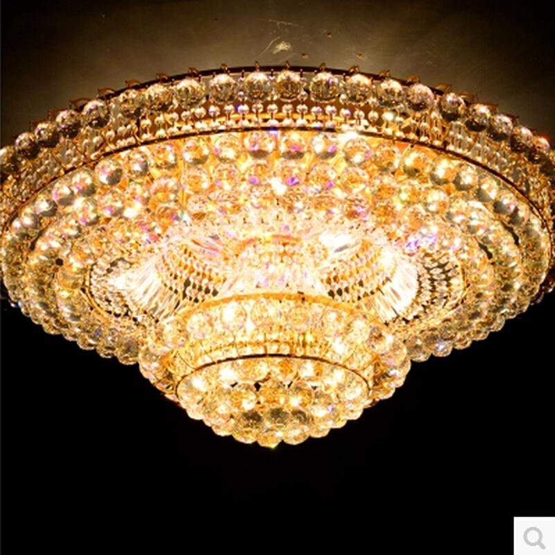 Selling contemporary k9 crystal light chandelier lustre de cristal home light - Lustre pampilles cristal ...