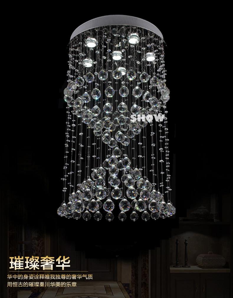 Lighting Basement Washroom Stairs: Facotry Direct Led Crystal Lights Chandelier Modern Home
