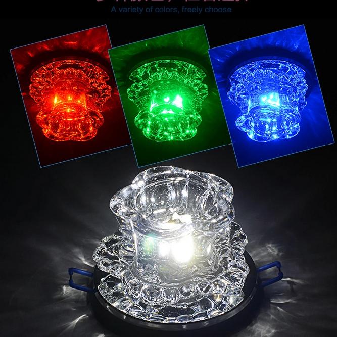Led crystal lighting aisle lights ceiling spotlights