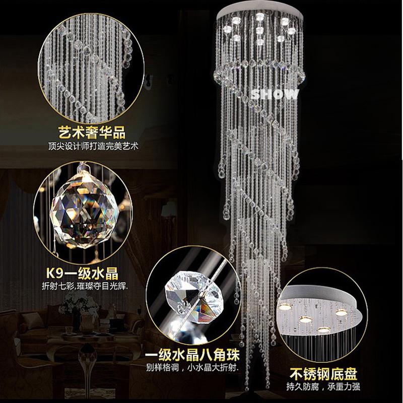 kronleuchter modern led big led chandelier modern cone. Black Bedroom Furniture Sets. Home Design Ideas