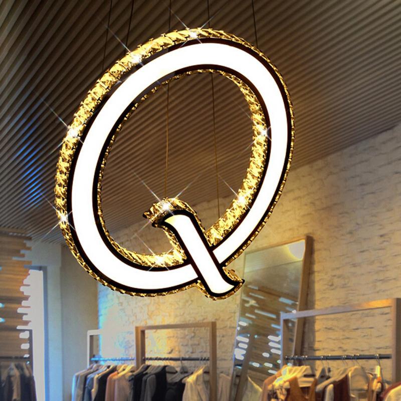 new q design led pendant lights modern lampen kristal dinning room fixtures bar light led. Black Bedroom Furniture Sets. Home Design Ideas