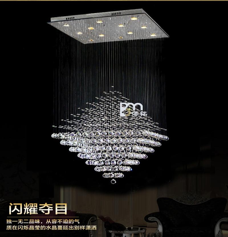 s new design led crystal light chandelier living room. Black Bedroom Furniture Sets. Home Design Ideas