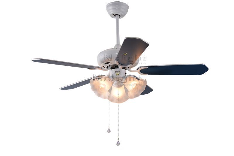 blue ceiling fans