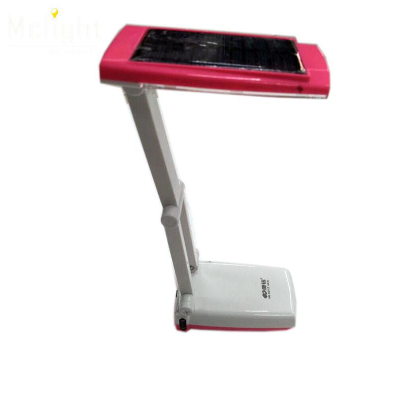 Flexible Pink Led Desk Lamp Rechargeable Foldable