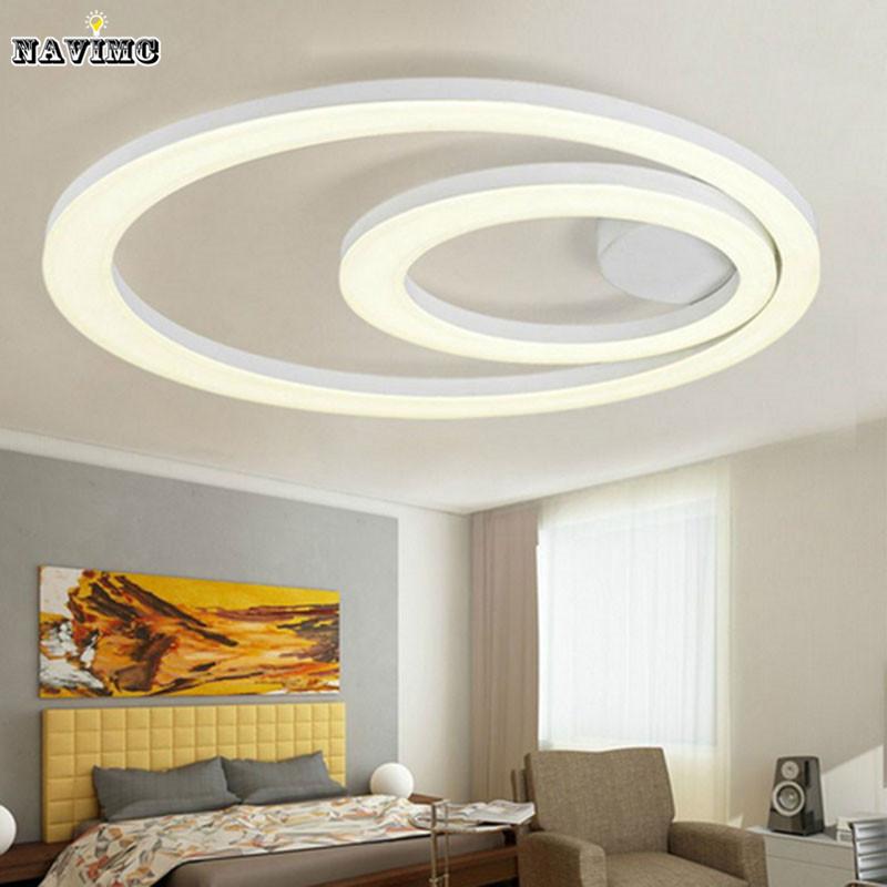 flush mounted led chandelier light new design white chandelier lighting modern acrylic ring. Black Bedroom Furniture Sets. Home Design Ideas