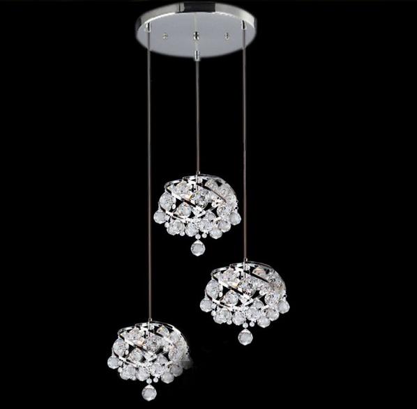 Mini Modern Corroidor Asisle Luxury K9 Grape Crystal