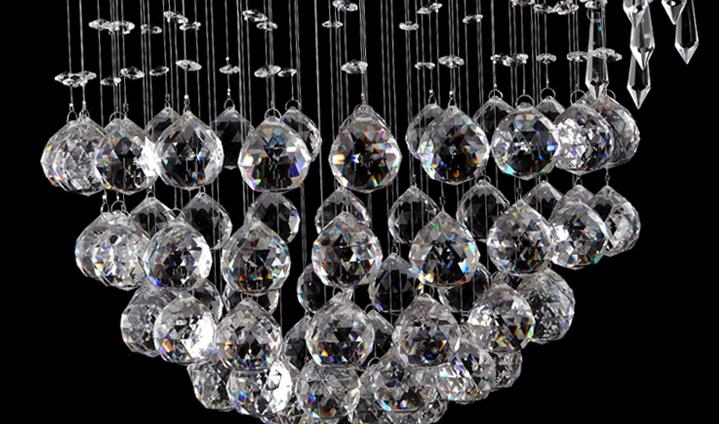 modern vanity large led crystal light chandelier spiral design lustres de cristal stair lighting for el banner5 stair lighting
