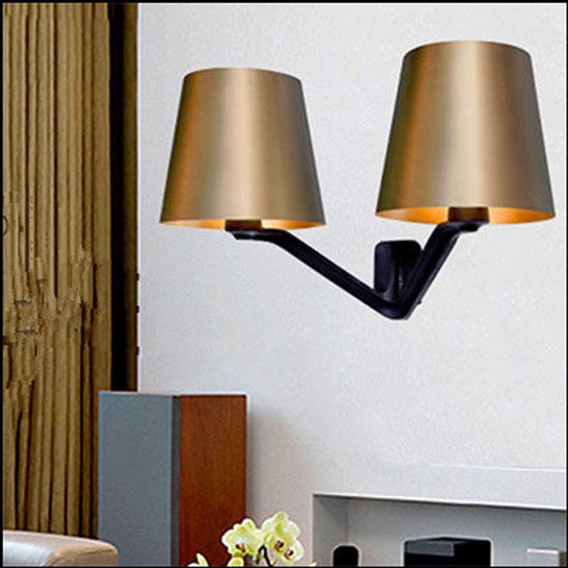Wall Lamps For Restaurants : 2015 new design england bedroom wall lamp personality metal art wall light restaurant bar living ...