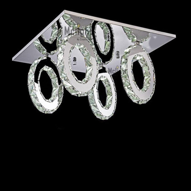 modern led crystal ceiling light fitting crystal led. Black Bedroom Furniture Sets. Home Design Ideas