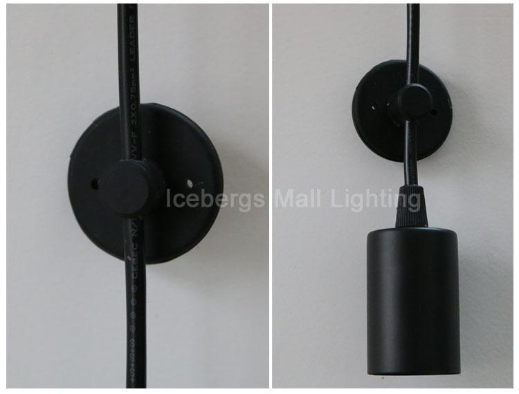 modern nordic retro edison bulb light chandelier vintage loft antique adjustable diy e27 art spider pendant - Edison Bulb Pendant