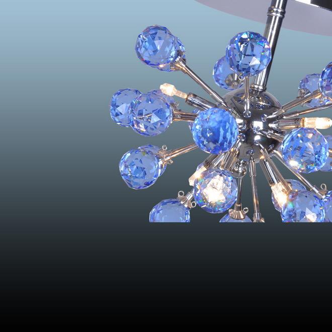 New diy morden semi flush mount elements luxury interior for Diy crystal chandelier lamp